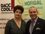 Anca Daniela Raiciu, Director De Marketing Hofigal, Impreuna Cu Anton Caragea, Directorul Institutului De Relatii Internationale Si Cooperare Economica