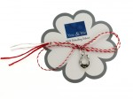 08 Martisor Din Argint, Cu Chihlimbar, Magazinele You And Me