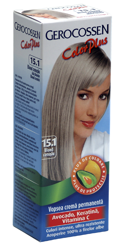 Vopsea De Par Color Plus Blond Cenusiu 151